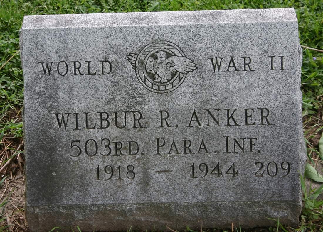 CPL Wilbur R. Anker