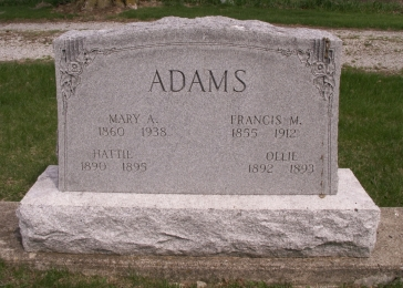 Mary Ann <i>Winkler</i> Adams