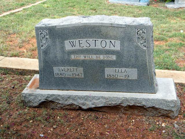 Ella M. <i>Murphree</i> Weston
