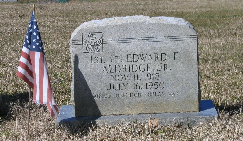 Lieut Edward F. Aldridge, Jr
