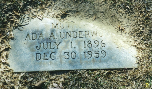 Ada <i>Aderholt</i> Underwood