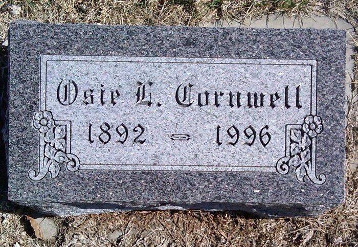 Osie <i>Lesh</i> Cornwell