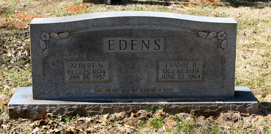Francis[Fanny] Bell <i>Durnell</i> Edens