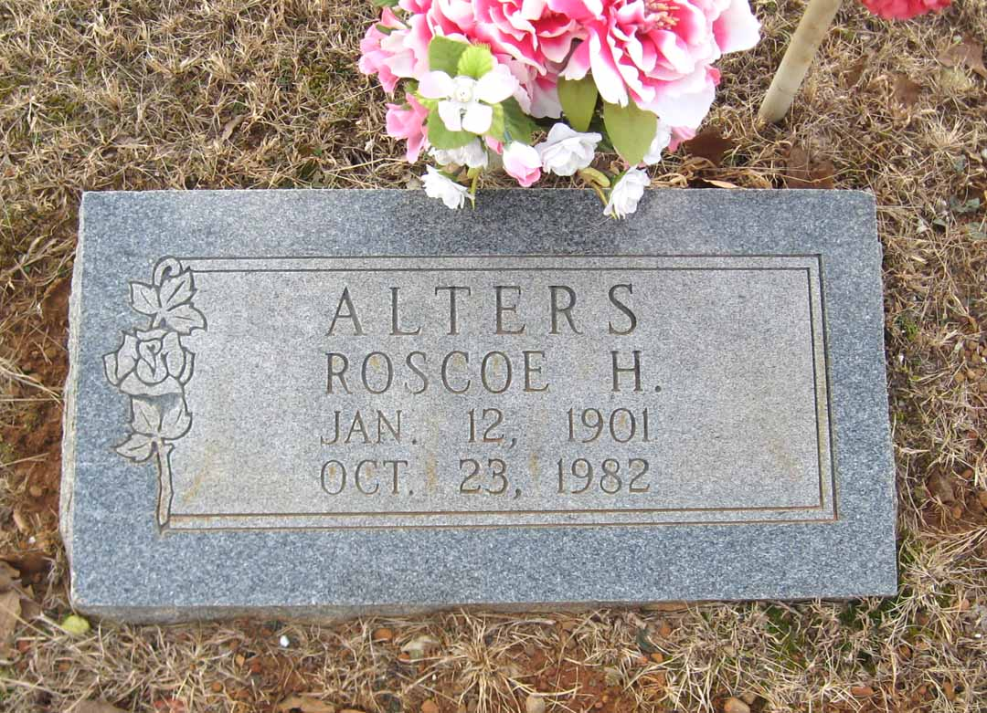 Roscoe Hildreth Alters