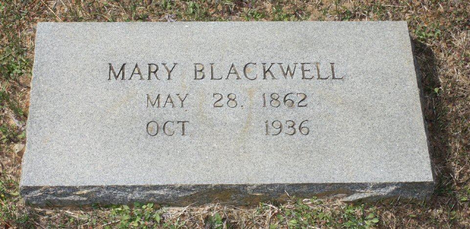 Mary Marzelle <i>Mooney</i> Blackwell