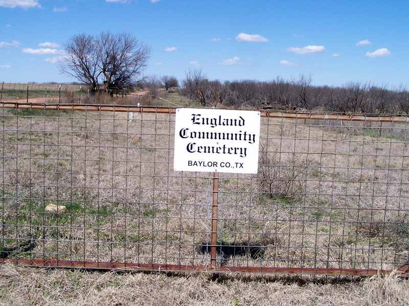 England Community Cemetery