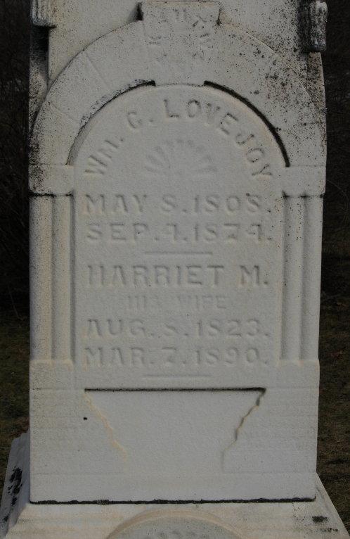 Harriet M Lovejoy