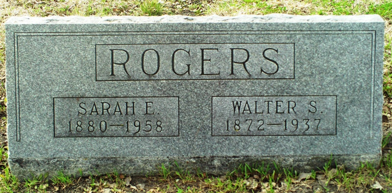 Sarah Elmira <i>Alford</i> Rogers