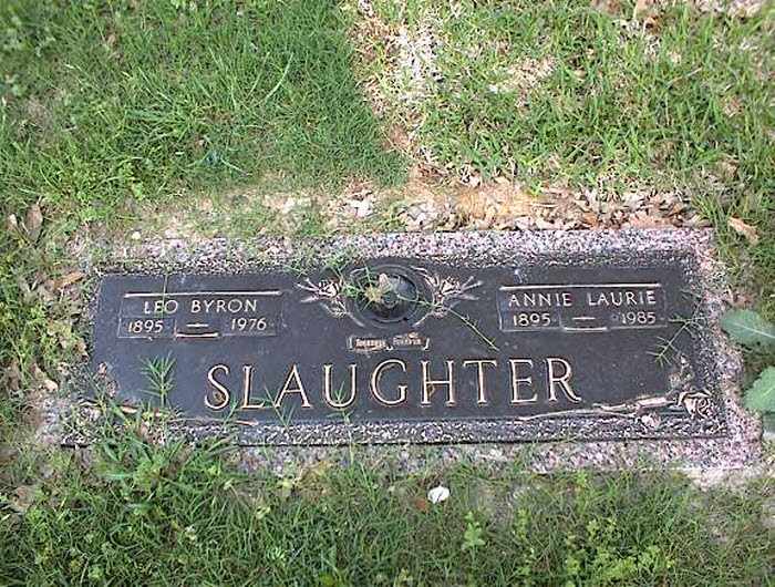 Annie Laurie Slaughter