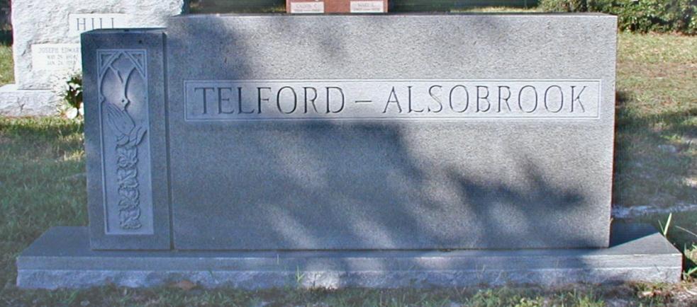 Mamie A. <i>Carter</i> Alsobrook