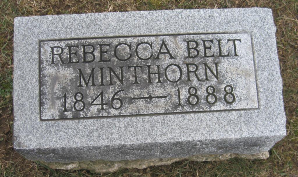 Rebecca Delia <i>Belt</i> Minthorn