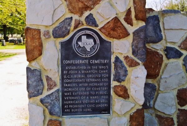 Confederate Cemetery in Alvin, Texas - Find A Grave Cemetery