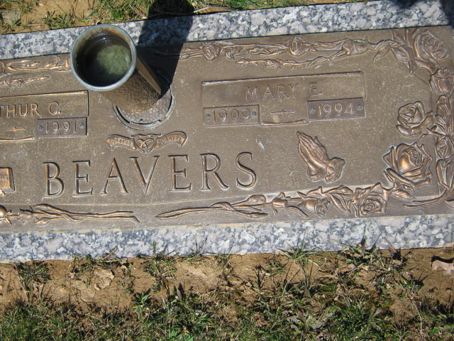 Mary Esther <i>Hagerman</i> Beavers