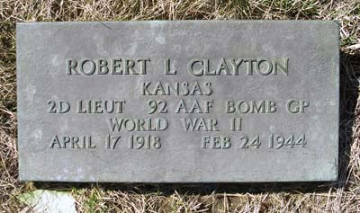2LT Robert Lee Clayton