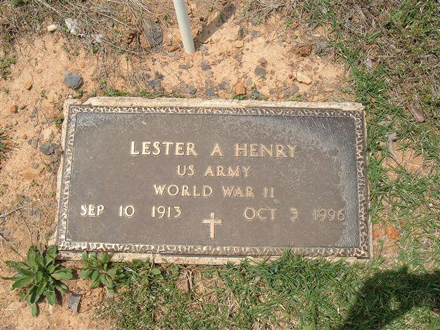 Lester A Henry