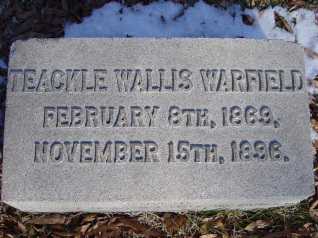 Teackle Wallis Warfield
