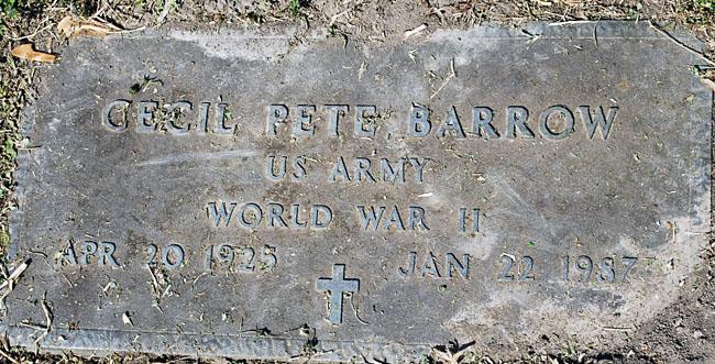 Cecil Pete Barrow