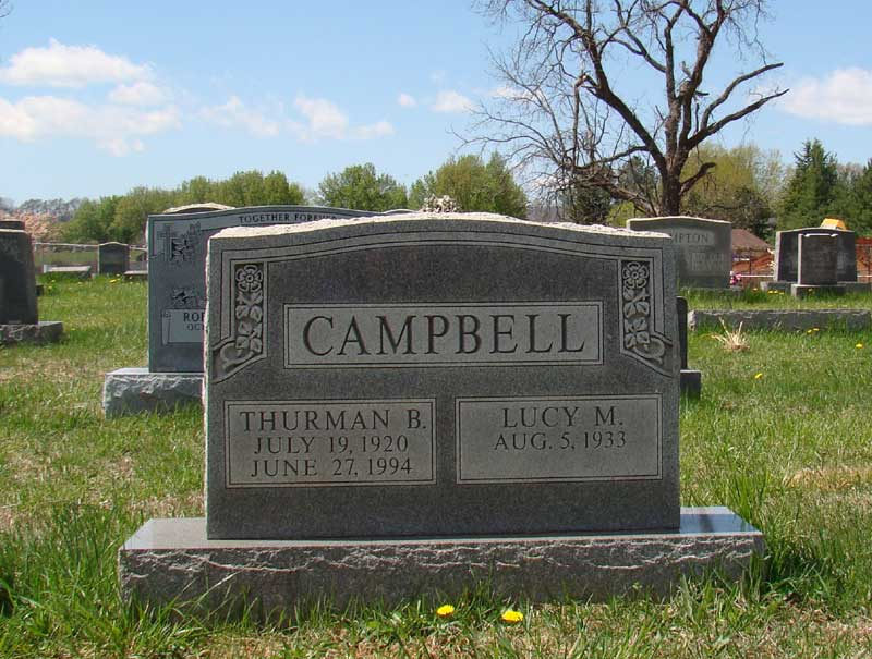 Lucy May <i>Sealock</i> Campbell