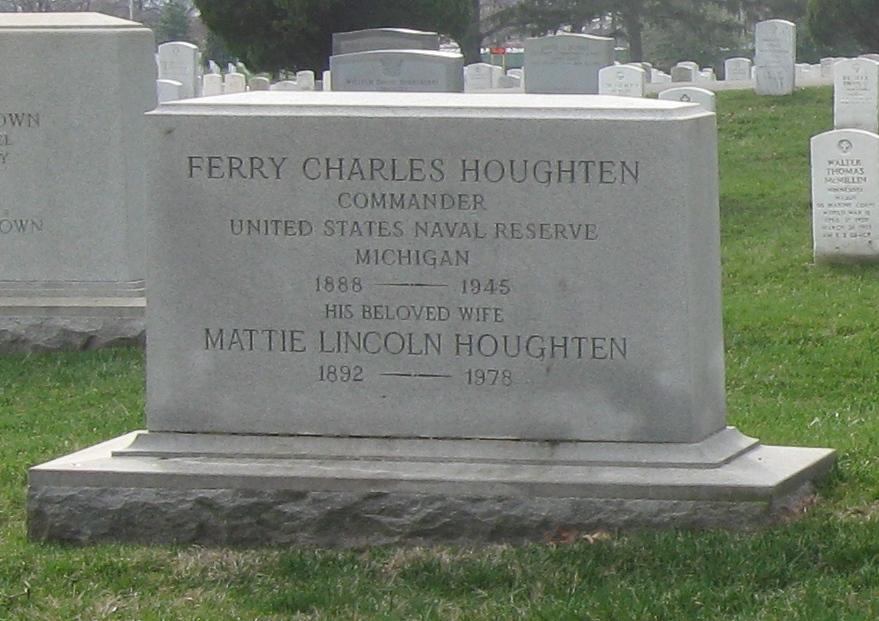 Mattie Jane <i>Lincoln</i> Houghten