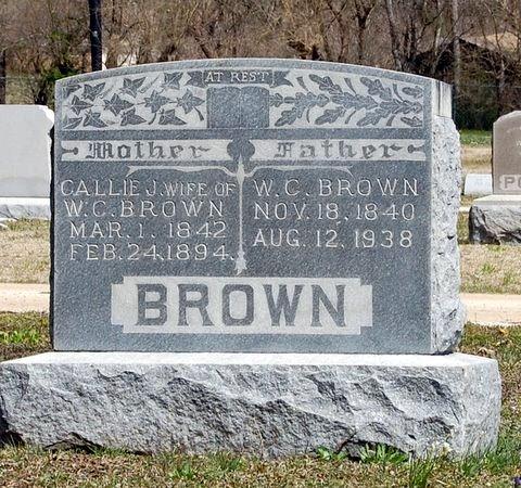 Caledonia Jane Callie <i>Hoover</i> Brown