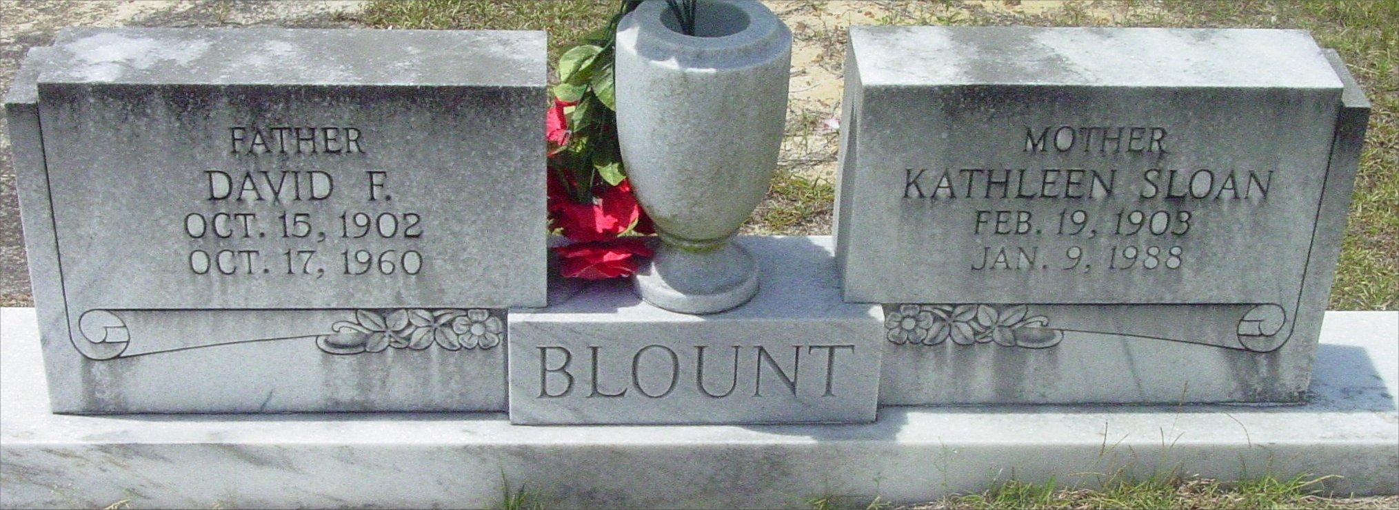 Kathleen <i>Sloan</i> Blount
