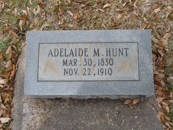 Adelaide M <i>Rose</i> Hunt