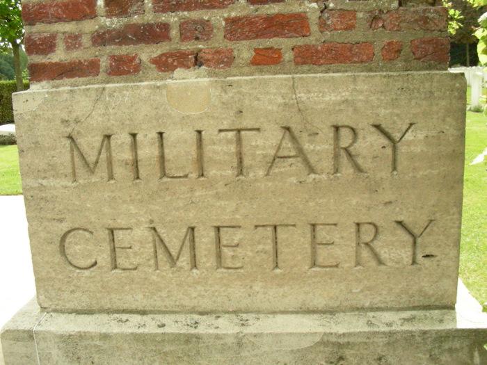 Kemmel Chateau Military Cemetery