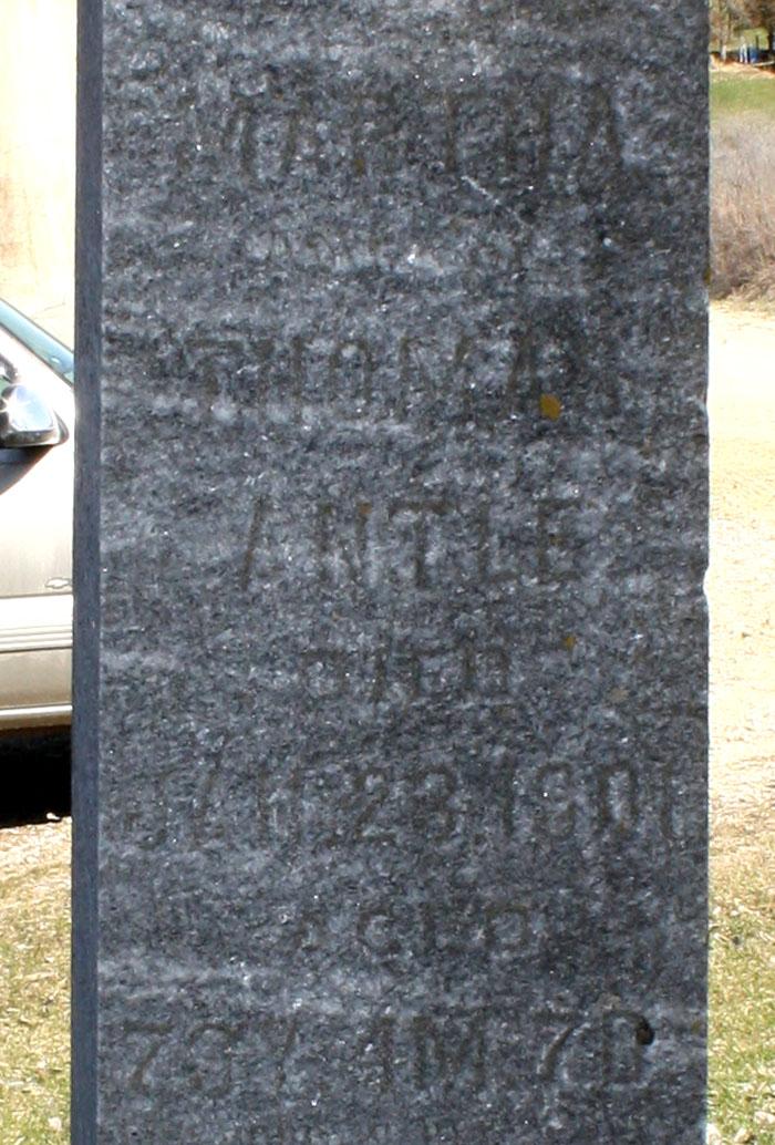 Martha <i>Cox</i> Antle