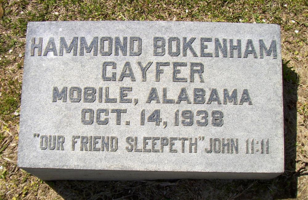 Hammond Bokenham Gayfer