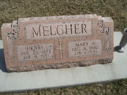 Mary Ann <i>Korth</i> Melcher