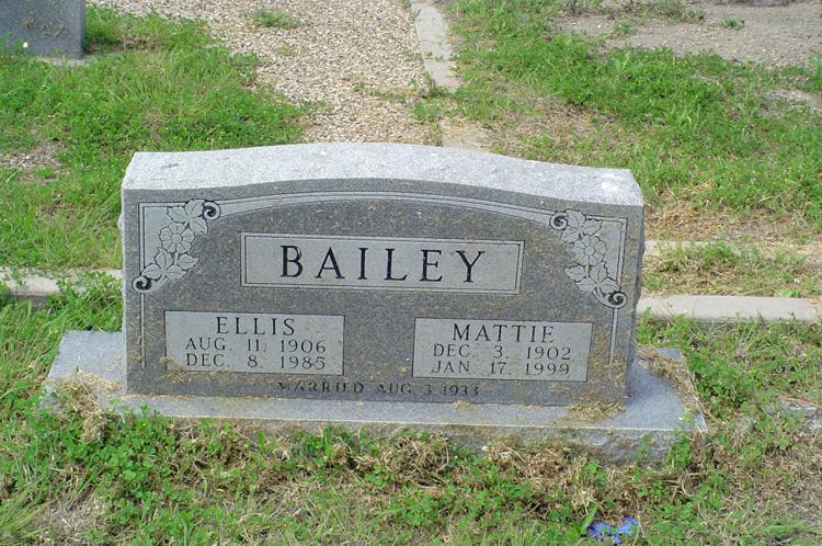 Mattie <i>Wallace</i> Bailey