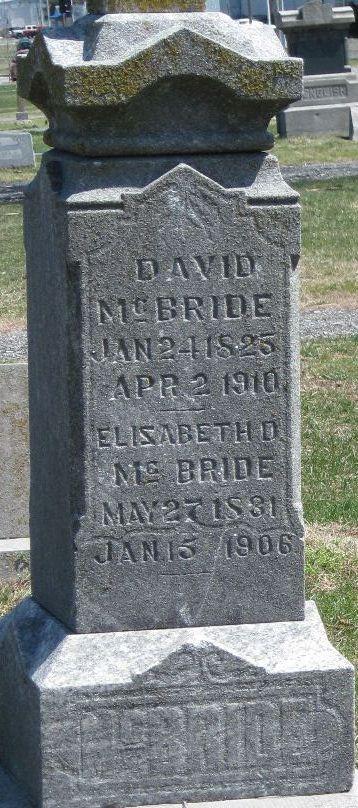 Oran David McBride