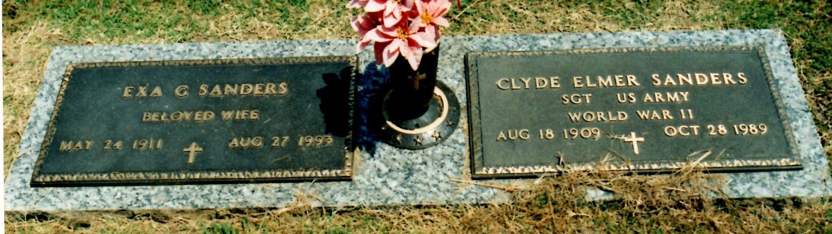 Clyde Elmer Sanders