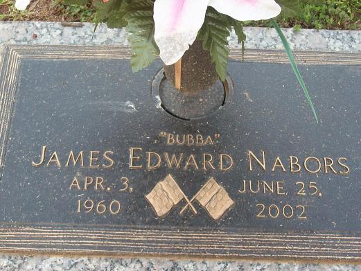 James Edward Bubba Nabors