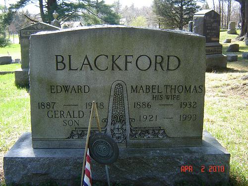 Mabel <i>Thomas</i> Blackford