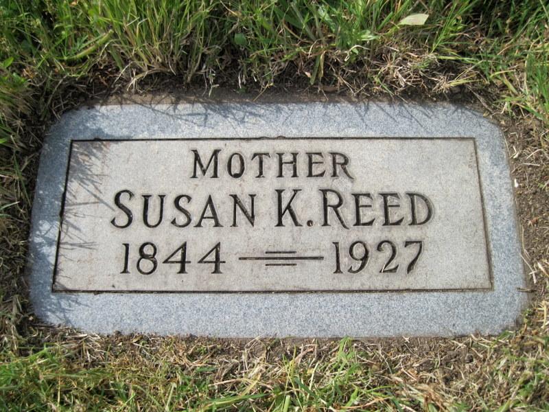 Susan K. <i>Cox</i> Reed