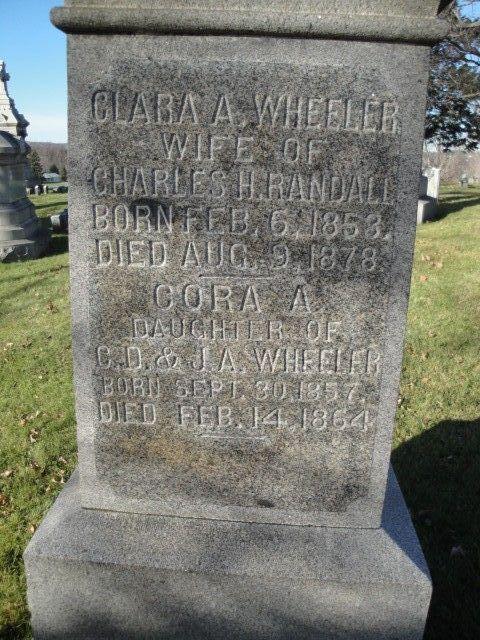 Clara A. <i>Wheeler</i> Randall