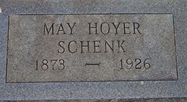 May <i>Hoyer</i> Schenk