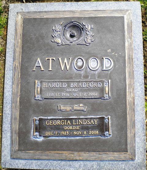 Georgia Dordie <i>Lindsay</i> Atwood