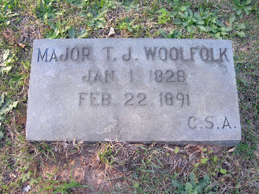Maj Thomas Jefferson Woolfolk