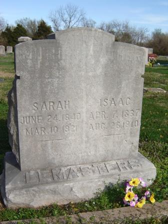 Sarah Ann <i>Heston</i> Lemasters