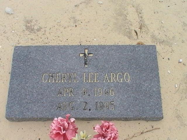 Cheryl Lee Argo