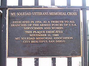 Mt. Soledad National Memorial