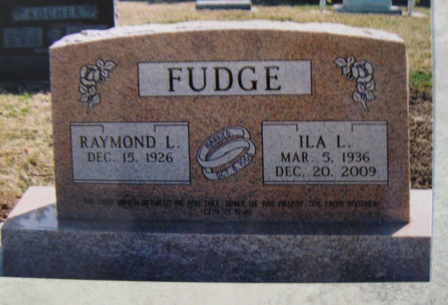 Ila Lucille <i>Garlow</i> Fudge