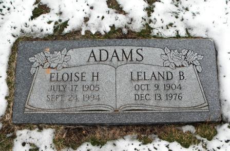 Eloise <i>Hansen</i> Adams