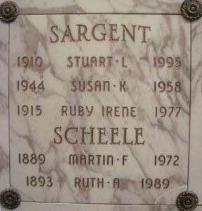 Ruth A. Scheele
