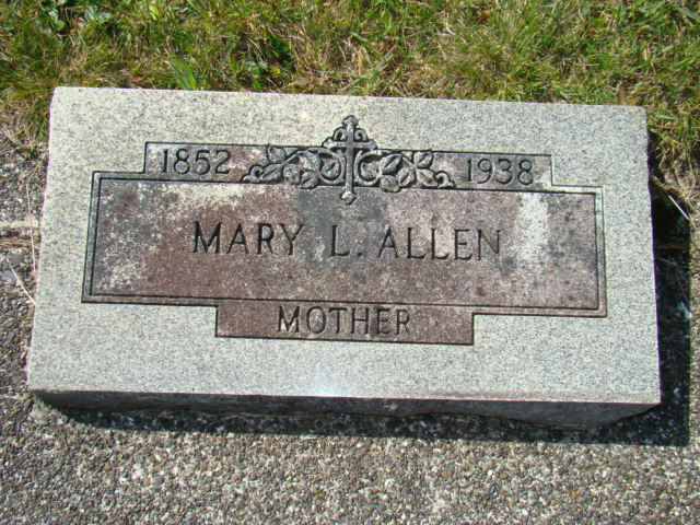 Mary Louise <i>Rouyer</i> Allen