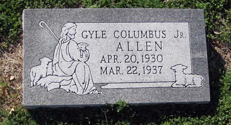 Gyle Columbus Dick Allen, Jr