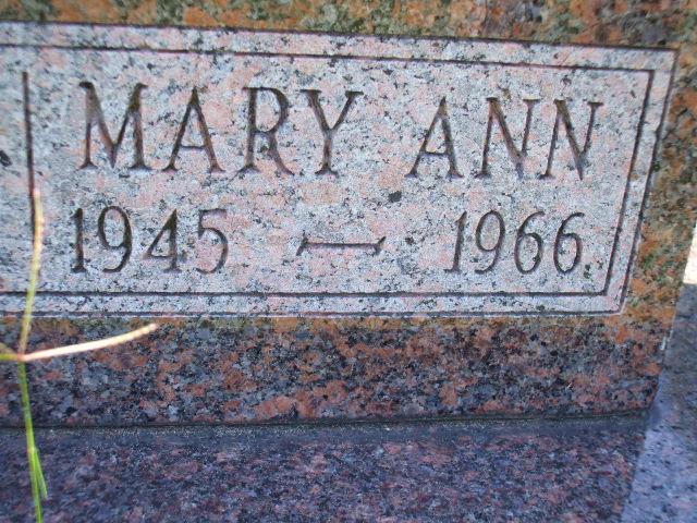 Mary Ann Jordan