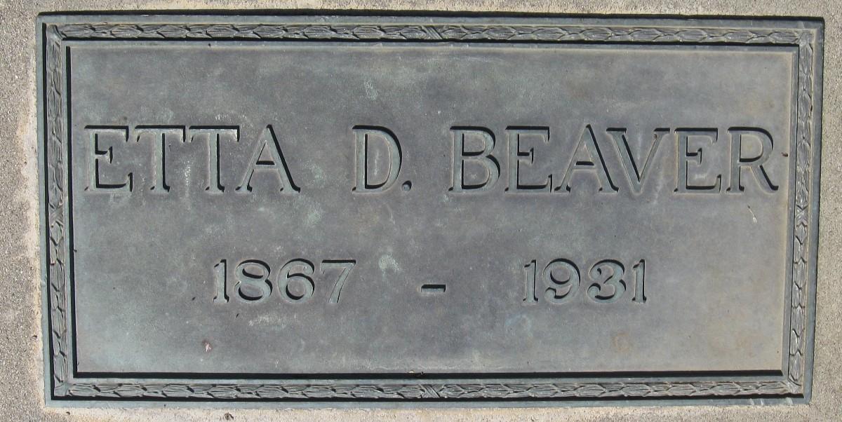 Etta Dorcas <i>Kinkade</i> Beaver